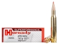 Hornady Superformance SST Ammunition 270 Winchester 140 Grain SST InterLock Box of 20
