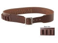 "Hunter Cartridge Belt 2-1/2"" 20 Gauge 18 Loops Leather Antique Brown XL"