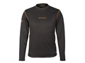 Scent-Lok BaseSlayers Thermal Mock Shirt Long Sleeve Polyester Black