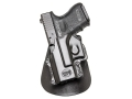 Product detail of Fobus Paddle Holster Left Hand Glock 26, 27, 33 Polymer Black