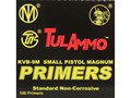 TulAmmo Small Magnum Pistol Primers Case of 5000 (5 Boxes of 1000)