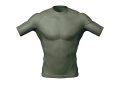 5.11 Muscle Mapping Crew Tactical Undergear Shirt Short Sleeve Synthetic Blend
