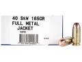 Ultramax Remanufactured Ammunition 40 S&amp;W 165 Grain Full Metal Jacket Box of 50