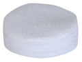 Pro-Shot Cleaning Patches 22 to 270 Caliber 1&quot; Round Cotton Flannel Gun Cleaning Patches Package of 600