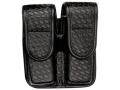 Bianchi 7902 AccuMold Elite Double Magazine Pouch Single Stack 9mm, 45 ACP