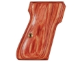 Product detail of Hogue Fancy Hardwood Grips Walther PP, PPK/S Tulipwood