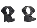 "Talley Lightweight 2-Piece Scope Mounts with Integral 1"" Rings Savage 10 Through 16, 110 Through 116 Flat Rear Matte Extra-High"