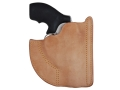 "Product detail of Galco Front Pocket Holster Ambidextrous S&W 36, 442, 649 Bodyguard 2"" Barrel Leather Tan"
