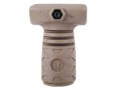 Command Arms Thunder 3 Finger Stubby Vertical Forend Grip with Storage Compartment AR-15 Polymer
