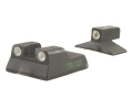 Meprolight Tru-Dot Sight Set HK P7M8 Steel Blue Tritium Green