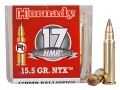 Hornady Ammunition 17 Hornady Magnum Rimfire (HMR) 15.5 Grain NTX