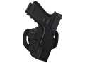 DeSantis Facilitator Belt Holster Right Hand Smith &amp; Wesson M&amp;P Compact 9, 40 Kydex Black