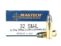 Magtech Sport Ammunition 32 S&W Long 98 Grain Lead Round Nose