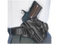 Galco Concealable Belt Holster Left Hand 1911 Defender, Springfield EMP Leather Black