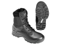 "5.11 ATAC 8"" Uninsulated Boots Leather and Nylon Side Zip Black Mens"
