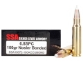 Silver State Armory Ammunition 6.8mm Remington SPC 100 Grain Nosler AccuBond Box of 20