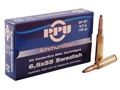 Product detail of Prvi Partizan Ammunition 6.5x55mm Swedish Mauser 139 Grain Soft Point Box of 20