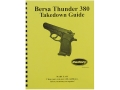 Radocy Takedown Guide &quot;Bersa Thunder 380&quot;