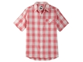Mountain Khakis Men's Shoreline Shirt Short Sleeve Cotton Ripstop Multi