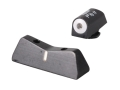 XS Express Night Sight Set Glock 20, 21, 29, 30, 37 Steel Matte Tritium Dot