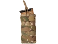 Blackhawk S.T.R.I.K.E. MOLLE M4/M16 Single Magazine Shingle Holds 1 AR-15 30 Round Magazine Nylon Multicam Camo