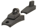 Scattergun Technologies Ghost Ring Sight Set with Tritium Inserts Front and Rear Remington 12 Gauge 870, 1100, 11-87 Parkerized