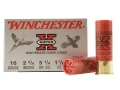"Winchester Super-X High Brass Ammunition 16 Gauge 2-3/4"" 1-1/8 oz #7-1/2 Shot"