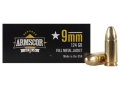 Armscor Ammunition 9mm Luger 124 Grain Full Metal Jacket Box of 50