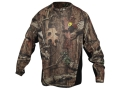 ScentBlocker Men's 8th Layer Base Layer Shirt Long Sleeve Polyester Mossy Oak Break-Up Infinity Camo Large 42-44