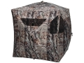 Ameristep Brickhouse Ground Blind 75&quot; x 75&quot; x 67&quot; Polyester Realtree AP Camo
