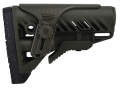 Mako GLR16 Buttstock with Adjustable Cheek Rest Collapsible AR-15, LR-308 Carbine Synthetic