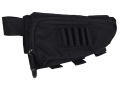 BLACKHAWK! IVS Performance Rifle Cheek Rest with Rifle Ammunition Carrier 5-Round Fixed Stock Nylon Black