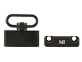 Product detail of Midwest Industries Rear Sling Mount Adapter AR-15 Carbine for 6-Position Collapsible Stock Aluminum Matte