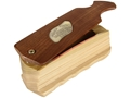FoxPro Rude Snood Natural Walnut Box Turkey Call