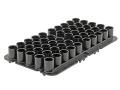 MTM Shotshell Tray 20 Gauge 50-Round Plastic Black