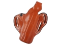 DeSantis Thumb Break Scabbard Belt Holster Right Hand 1911 Government Leather Tan