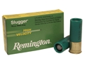 "Remington Slugger Ammunition 12 Gauge 2-3/4"" 7/8 oz High Velocity Rifled Slug Box of 5"
