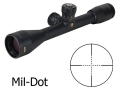 Bushnell Elite 3200 Tactical Rifle Scope 10x 40mm Mil-Dot Reticle Matte
