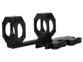 American Defense Recon-X Quick-Release Extra-Extended Scope Mount Picatinny-Style with 35mm Rings AR-15 Flat-Top Matte