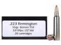 Doubletap Ammunition 223 Remington 55 Grain Barnes Triple-Shock X Bullet Hollow Point Lead-Free Box of 20