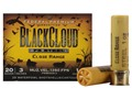 Federal Premium Black Cloud Close Range Ammunition 20 Gauge 3&quot; 1 oz  #2 Non-Toxic FlightStopper Steel Shot Box 25