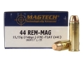 Magtech Sport Ammunition 44 Remington Magnum 240 Grain Full Metal Jacket