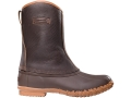 "LaCrosse Mesquite 10"" Waterproof 200 Gram Insulated Hunting Boots Leather and Rubber"