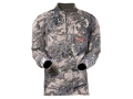 Sitka Gear Men&#39;s Traverse Zip-T Base Layer Shirt Long Sleeve Polyester