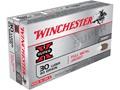 Winchester Super-X Ammunition 30 Luger 93 Grain Full Metal Jacket