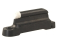 "NECG Ruger Front Ramp Replacement Front Sight .330"" Height Steel Blue 3/32"" White Bead"