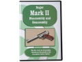 Product detail of &quot;Ruger Mark II Disassembly &amp; Reassembly&quot; DVD