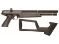 Benjamin Marauder PCP Air Pistol 22 Caliber Pellet Black Polymer Stock Matte Barrel