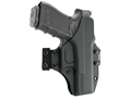 Blade-Tech Total Eclipse Inside/Outside the Waistband Holster Ambidextrous Glock 17, 22 Kydex Black