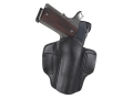 Wilson Combat Lo-Profile Holster Right Hand 1911 Officer Leather Black